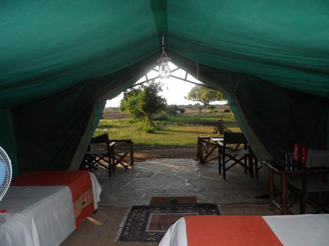SATAO VIEW FROM TENT