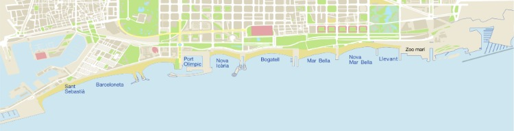 map-of-barcelona-city-beaches