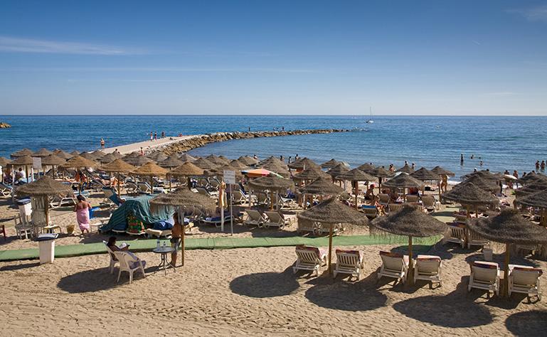 marbella beach slider