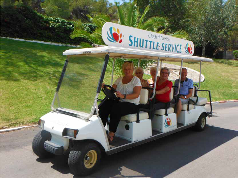 shuttle ciudad patricia