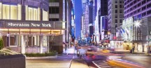 Sheraton Manhattan Hotel ***** New York, V.S.