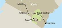 Kenia: 5 dagen safari