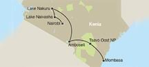 Kenia: 7 dagen safari